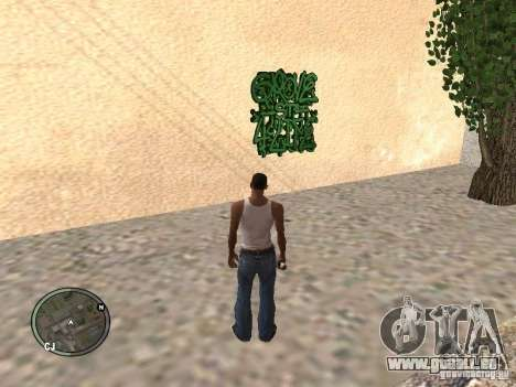 My Gang Tags für GTA San Andreas her Screenshot