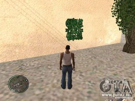 My Gang Tags pour GTA San Andreas quatrième écran