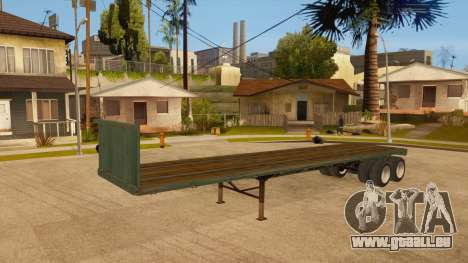 Schleppnetz für GTA San Andreas Rückansicht