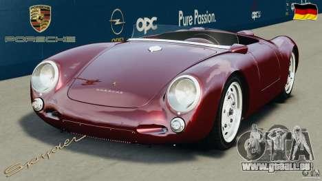 Porsche 550 A Spyder 1956 v1.0 pour GTA 4