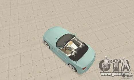 BMW Z4 Roadster 2006 für GTA San Andreas zurück linke Ansicht