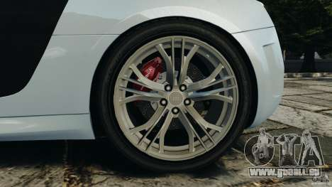Audi R8 GT 2012 pour GTA 4 vue de dessus