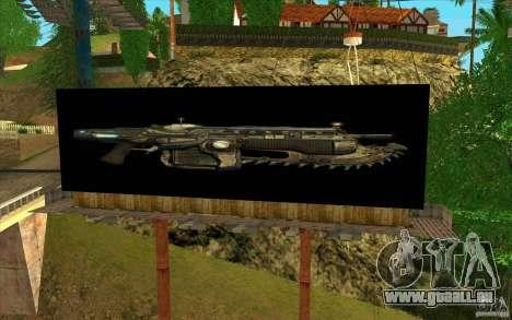 Werbetafeln In GEARS OF WAR für GTA San Andreas dritten Screenshot