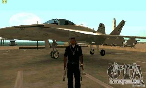 F-18 Super Hornet für GTA San Andreas