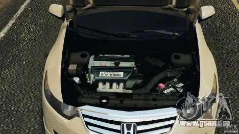 Honda Accord Type S 2008 für GTA 4 Innenansicht