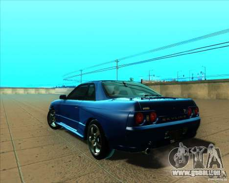 Nissan Skyline GT-R R32 1993 Tunable pour GTA San Andreas vue arrière