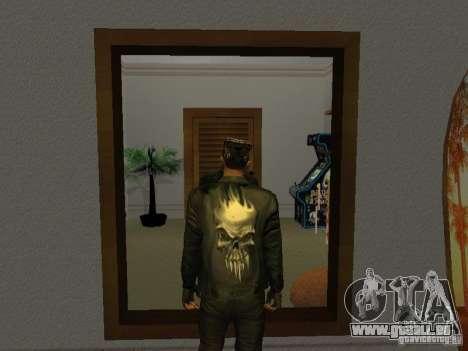 Veste de crâne pour GTA San Andreas