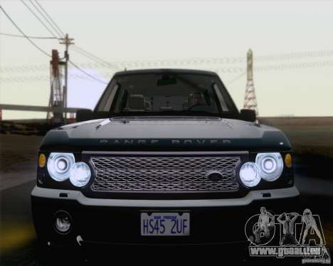 Land Rover Range Rover Supercharged 2008 für GTA San Andreas Seitenansicht
