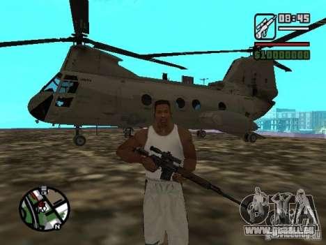 CH-46 SeaKnight pour GTA San Andreas