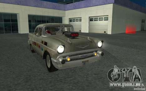 Chevrolet BelAir Bloodring Banger 1957 pour GTA San Andreas vue arrière