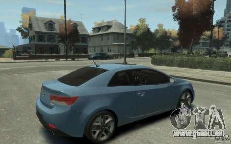 Kia Forte Koup SX für GTA 4 rechte Ansicht