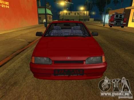 ВАЗ 2114 Touring pour GTA San Andreas laissé vue