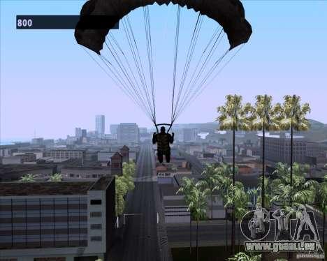Black Ops Parachute pour GTA San Andreas cinquième écran