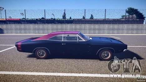 Dodge Charger RT 1969 v1.0 pour GTA 4 est une vue de l'intérieur