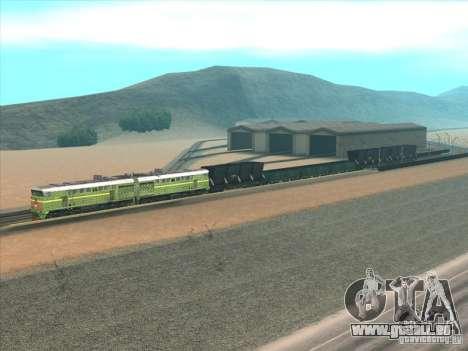 2te10u-0238 pour GTA San Andreas sur la vue arrière gauche