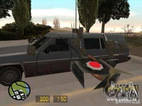 Un peu comme le Counter Strike pour GTA San Andr pour GTA San Andreas troisième écran