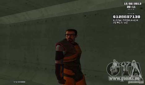 Gordon Freeman für GTA San Andreas