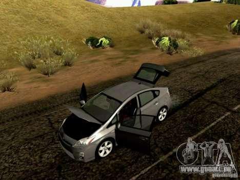 Toyota Prius Hybrid 2011 für GTA San Andreas Innenansicht