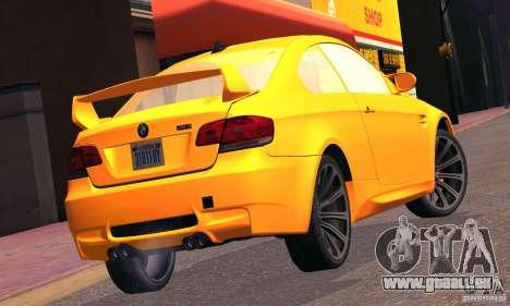 BMW M3 für GTA San Andreas Innenansicht