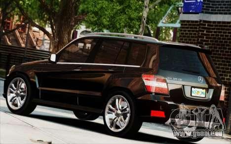 Mercedes-Benz GLK 320 CDI pour GTA 4 Vue arrière