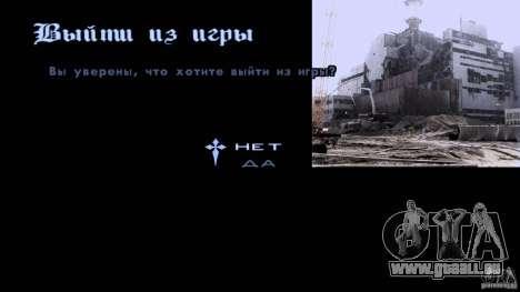 Écrans de chargement Chernobyl pour GTA San Andreas troisième écran