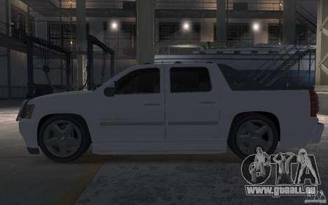 Chevrolet Avalanche v1.0 pour GTA 4 est une gauche