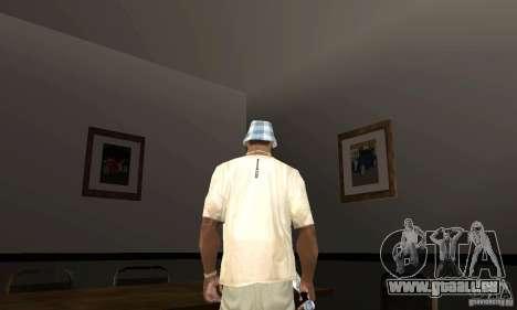 Maisons neuves à coffre intérieurs pour GTA San Andreas quatrième écran