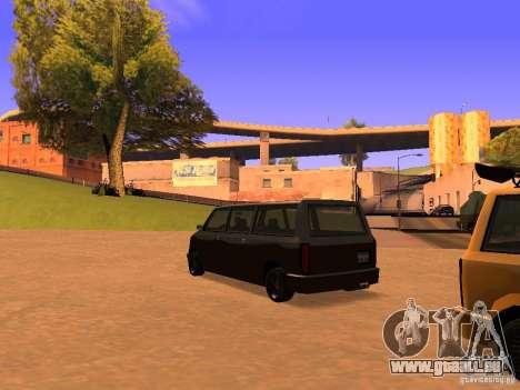 Moonbeam NN pour GTA San Andreas laissé vue