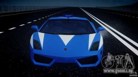 Lamborghini Gallardo LP560-4 Polizia für GTA 4-Motor