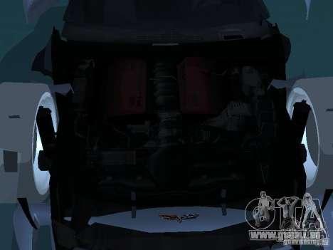 Chevrolet Corvette Stingray für GTA San Andreas obere Ansicht