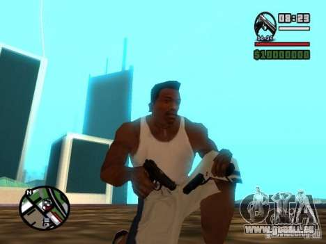 Gangster Weapon Pack für GTA San Andreas her Screenshot