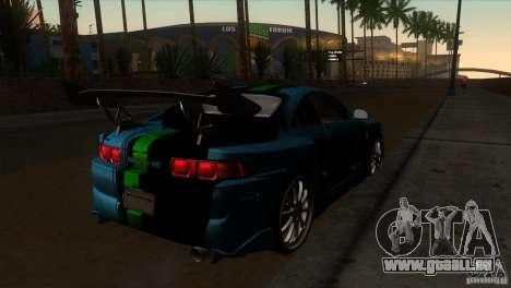 Toyota MR2 Drift pour GTA San Andreas vue de droite