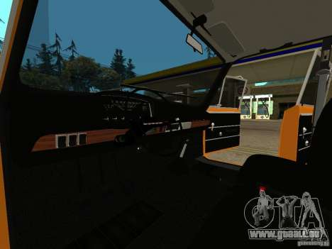 VAZ 2101 restauré pour GTA San Andreas sur la vue arrière gauche
