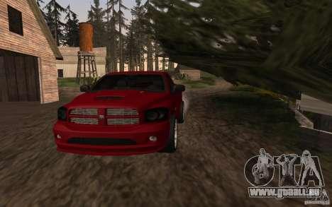 Dodge Ram SRT-10 für GTA San Andreas zurück linke Ansicht