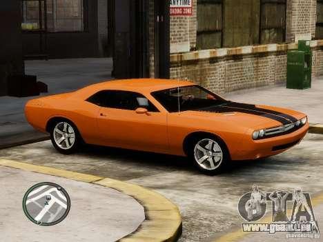 Dodge Chalenger pour GTA 4 est une gauche