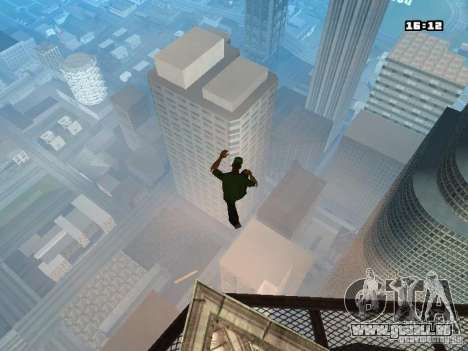 Parkour Mod für GTA San Andreas neunten Screenshot
