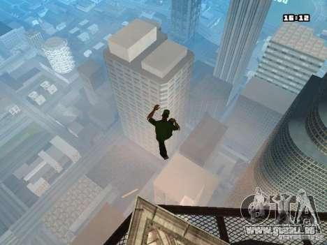 Parkour Mod für GTA San Andreas neunten Screenshot