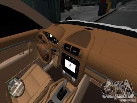 Porsche Cayenne Turbo 2003 v.2.0 für GTA 4 Rückansicht