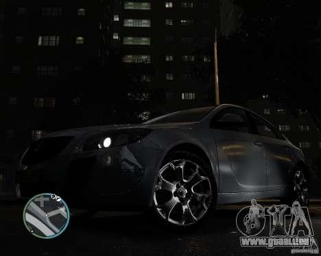 Vauxhall Insignia v1.0 pour GTA 4 est un droit