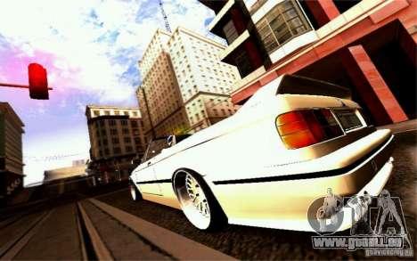 BMW E30 M3 Cabrio für GTA San Andreas Motor