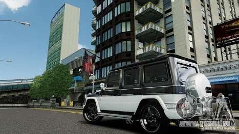 Mercedes-Benz G500 pour GTA 4 Vue arrière de la gauche