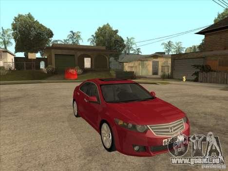 Honda Accord 2010 pour GTA San Andreas vue arrière