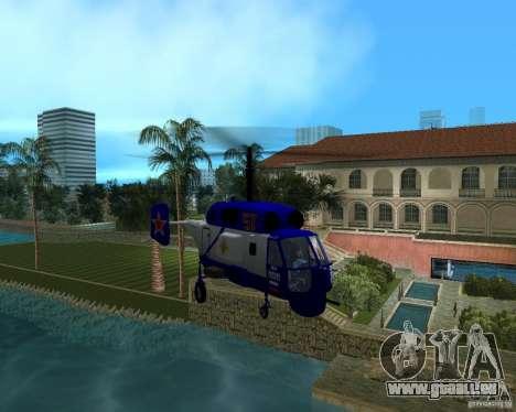 Ka-27 pour une vue GTA Vice City de la droite