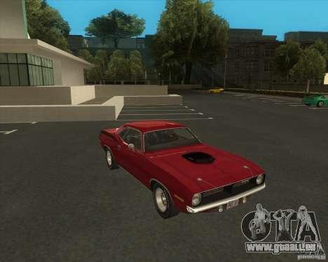 Plymouth Hemi Cuda 1970 440 über NFS PS für GTA San Andreas rechten Ansicht