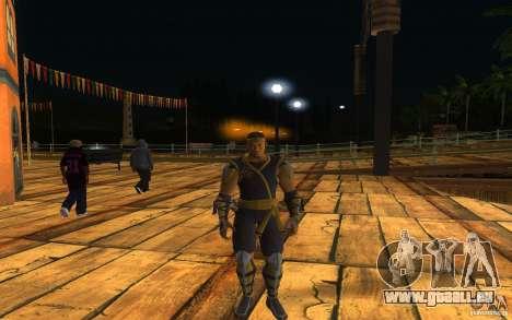 Cyrax aus Mortal Kombat 9 für GTA San Andreas