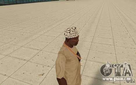 Paroles de kitay bandana pour GTA San Andreas deuxième écran