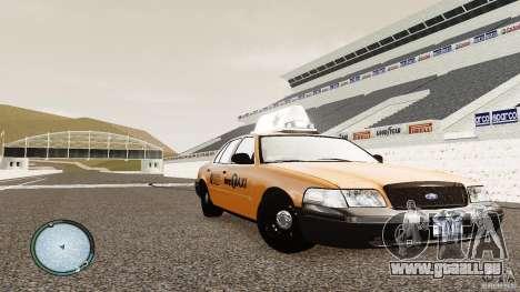 Ford Crown Victoria 2003 NYC Taxi für GTA 4 Rückansicht