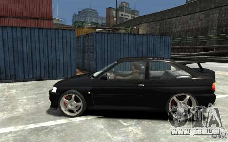 Ford Escort Cosworth für GTA 4 linke Ansicht