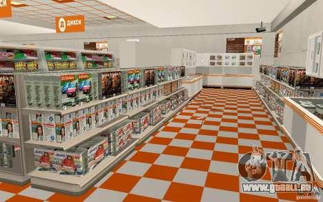 Nouvelle boutique Dixie pour GTA San Andreas troisième écran