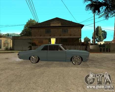 PONTIAC GTO 65 pour GTA San Andreas vue de droite